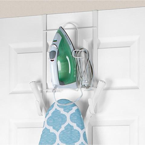 Over the Door Iron & Ironing Board Holder-1
