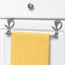 Leaf Over the Cabinet Towel Bar