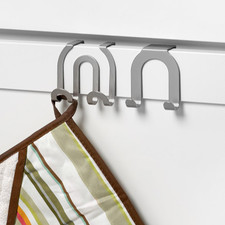 Over the Cabinet Pos/Neg Double Hook