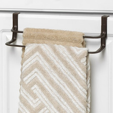 Ashley Over the Cabinet Double Towel Bar