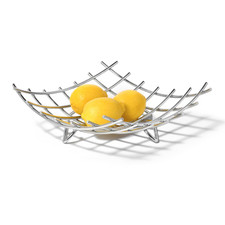 Dunbar Grid Fruit Bowl