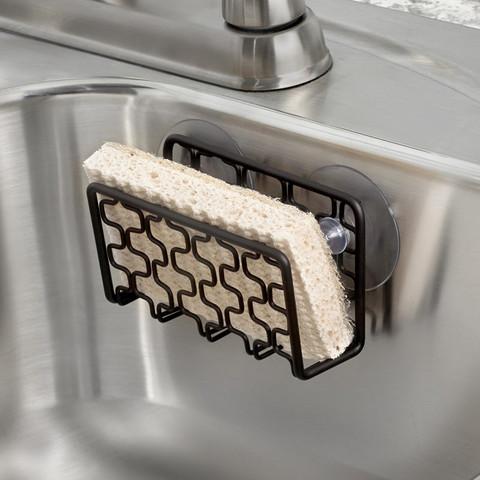 Bento Suction Sink Sponge Holder