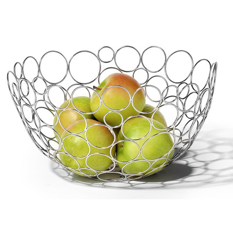 Shapes Circles Fruit Bowl