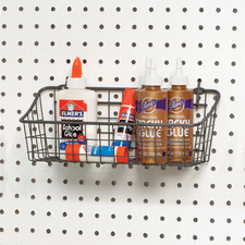 Small Pegboard & Wall Mount Basket
