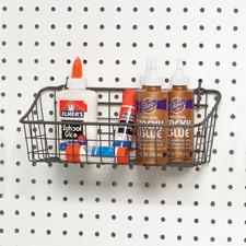 Small Pegboard & Wall Mount Basket