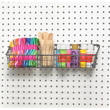 Medium Pegboard & Wall Mount Basket