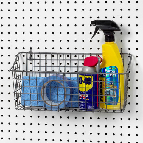 Extra Large Pegboard & Wall Mount Basket