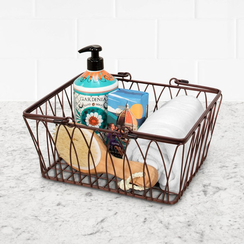 Twist Medium Handled Basket