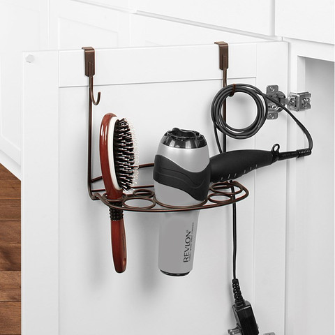 myBella Over the Cabinet Hair Dryer & Accessory Holder