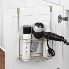 myBella Over the Cabinet Hair Dryer & Accessory Organizer