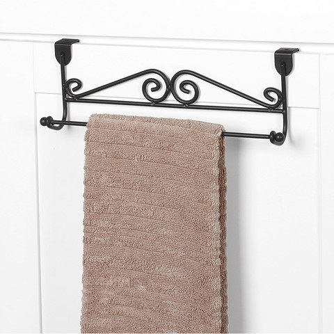 Scroll Over the Cabinet Towel Bar