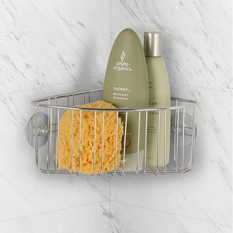 Contempo Suction Corner Shower Basket