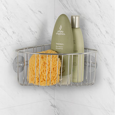 Contempo Suction Corner Shower Basket