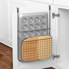 Grid Over the Cabinet Cutting Board & Bakeware Holder