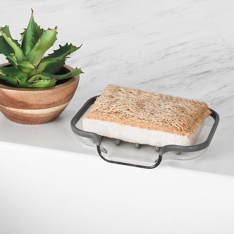 Cora Sink Sponge & Soap Dish