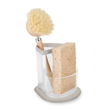 Cora Triangle Sink Sponge & Brush Holder