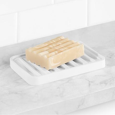 Stripe Sink Sponge & Soap Saver