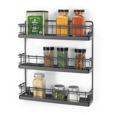 Vintage LivingÓ Wall Mount 3-Tier Spice Rack
