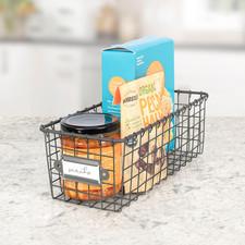 Vintage LivingÓ Storage Basket 5.5 x 12
