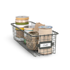 Vintage LivingÓ Storage Basket 5.5 x 16