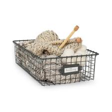 Vintage LivingÓ Storage Basket 9 x 16