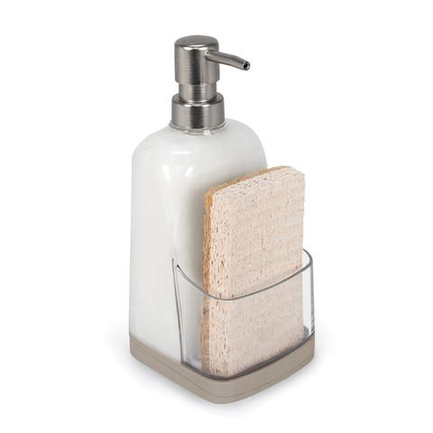 Cora Soap Pump & Sponge Holder