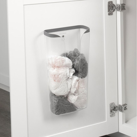 Cora Cabinet & Wall Mount Recycling Bag Holder