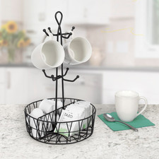 Paxton 8-Mug Holder & Coffee Station Organizer