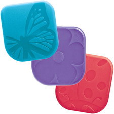 Nylon Pan Scrapers - Spring Bugs (Set of 3)