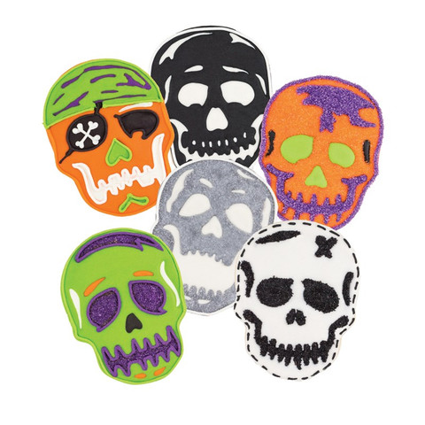 Tovolo Skull Cookie Cutters (Set of 6)