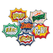 Tovolo Comic Burst Cookie Cutters (Set of 6)