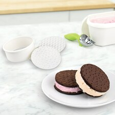 Tovolo Round Ice Cream Sandwich Cutter