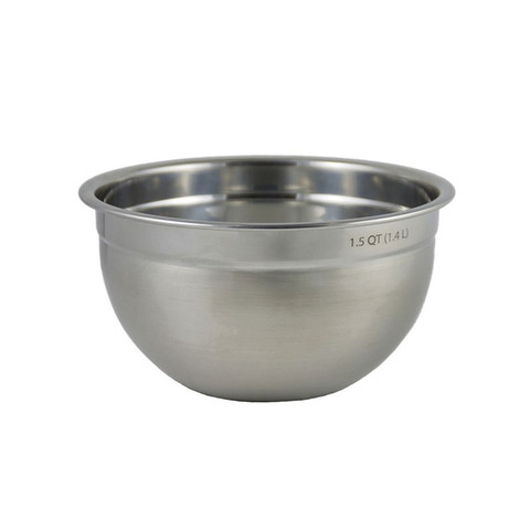 1.5 Qt Stainless Steel Mixing Bowl