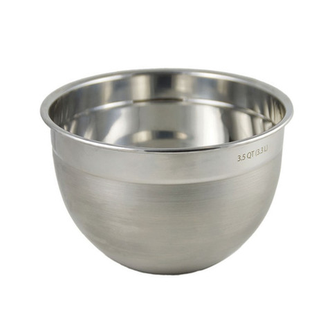 3.5 Qt Stainless Steel Mixing Bowl-1