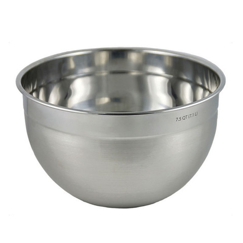 7.5 Qt Stainless Steel Mixing Bowl-1