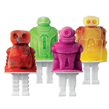 Robot Pop Mold (Set of 4)