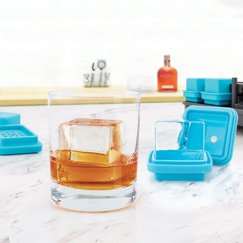 King Cube Clear Ice Mold (Set of 4)-1