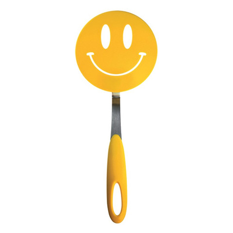 Spatulart Smiley Face Nylon Flex Turner
