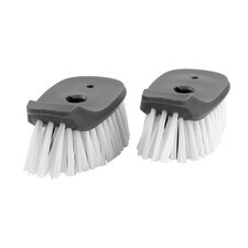 Set of 2 Replacement Magnetic Dish Brush Heads