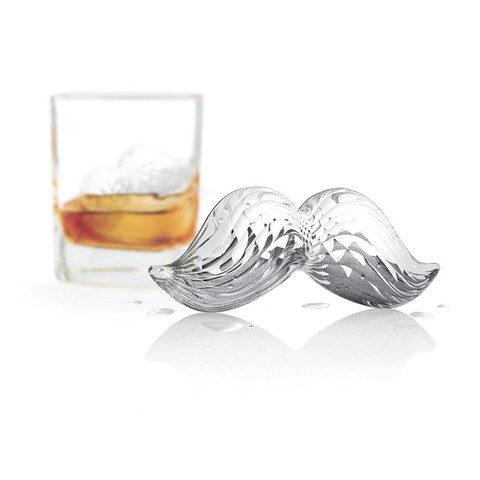 Mustache Ice Molds (Set of 2)