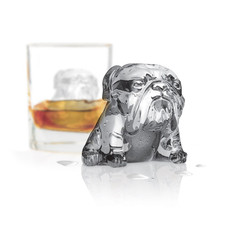 Bulldog Ice Molds (Set of 2)