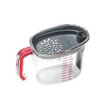 Tovolo Gravy Strainer for Measuring, Pouring, and Straining