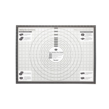 Pro-Grade Sil Pastry Mat with Reference Marks