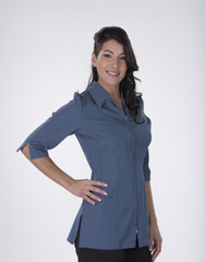 Carolyn Design Uniform Blue