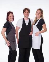 Carolyn Design Women V-Neck Apron group