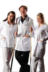 Simon Chang 3/4 Length Men's Poplin Coat group