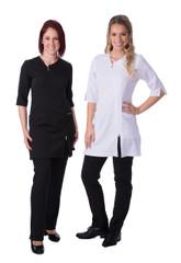 Carolyn Design 3/4 length Jacket with Diagonal