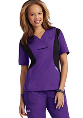 Mobb Active Flexi V-Neck Scrub Top