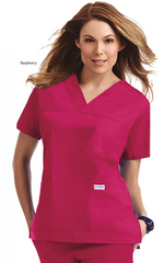 Mobb 3 Pocket V-Neck Scrub Top