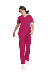 Mobb V-NECK THREE POCKET DOLMAN SLEEVE FLIP FLAP SCRUB SET